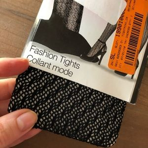 Accessories - Pattern tight in black NWT